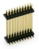 SMD Dual-Plastik Stiftleiste 1,27 x 1,27 mm, 2-reihig,