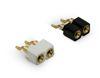 LED Verbinder SMT Buchsenleiste 2,54 mm 1-reihig 90°, Präzisionspins