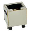 RJ45 8P Top Entry Shielded Panel Stop