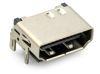 HDMI 19 Pin THT 90° 2-reihig