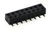 SMD Buchsenleiste 2,00 mm 2-reihig 180° Dual Entry