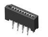 1,00 mm FPC Verbinder stehend 180°, Dual-Kontakte