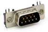 D-Sub SMD Stecker Ultra-Flach 90°