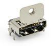 HDMI 19 Pin SMD 90°, obere Befestigungslasche 12,30 mm