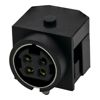 DC Power Buchse Mini DIN Style 90°