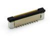 0,50 mm SMD FPC  ZIF Verbinder stehend 180°