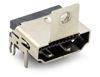 HDMI 19 Pin THT 90°,  obere Befestigungslasche 11,42 mm
